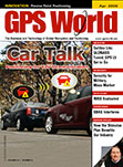 GPS World April 2009 cover