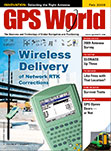 GPS World February 2009 cover