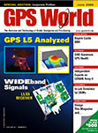 GPS World June 2009 cover