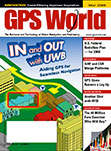GPS World March 2009 cover