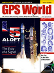 GPS World May 2009 cover