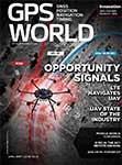 GPS World April 2017 cover