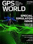 GPS World March 2017 cover