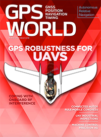 GPS World April 2016 cover
