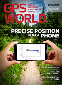 GPS World November 2016 cover