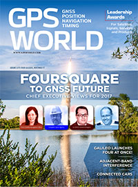 GPS World December 2016 cover