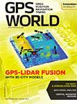 GPS World September 2017 cover