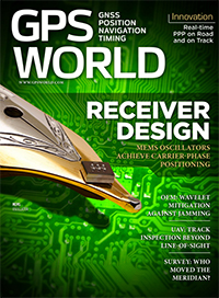 GPS World January 2016 cover