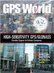 GPS World January 2011 cover