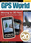 GPS World February 2010 cover