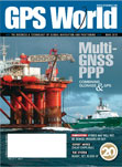 GPS World March 2010 cover