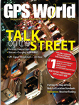 GPS World March 2011 cover
