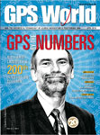 GPS World April 2010 cover