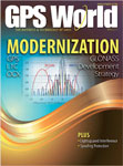 GPS World April 2011 cover