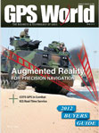 GPS World June 2012 cover