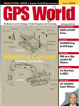 GPS World July 2009 cover
