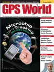 GPS World August 2009 cover