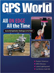 GPS World August 2011 cover