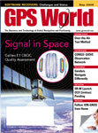 GPS World September 2009 cover
