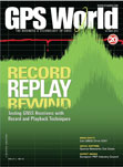 GPS World October 2010 cover