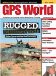 GPS World November 2009 cover