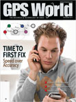 GPS World November 2011 cover