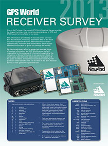 GPSWorld_2013ReceiverSurvey-cover-W . Source: GPS World