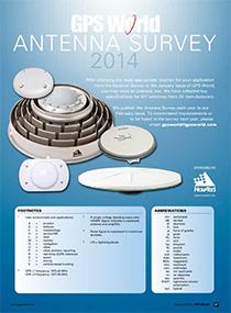 2014 GPS World Antenna Survey .  Source: GPS World