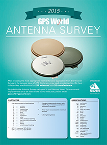 GPSWorld_2015_AntennaSurvey-cover-210   Source: GPS World