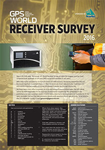 GPSWorld_2016ReceiverSurvey-COVERSource: GPS World
