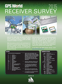 Receiver_Survey_2015_Cover-210pixel Source: GPS World