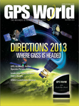 GPS World December 2012 cover