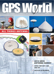 GPS World February 2013 cover