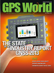 GPS World September 2013 cover
