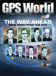 GPS World December 2013 cover