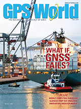 GPS World July 2014 cover