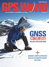 GPS World August 2014 cover