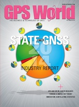 GPS World October 2014 cover