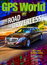 GPS World June 2015 cover