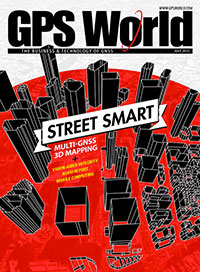 GPS World July 2015 cover