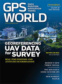 GPS World November 2015 cover