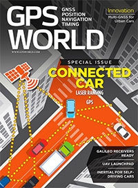 GPS World May 2016 cover