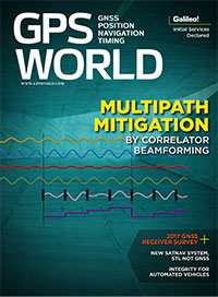 GPS World January 2017 cover