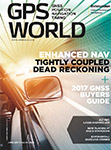 GPS World June 2017 cover