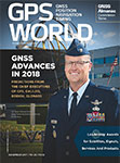 GPS World December 2017 cover