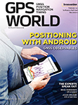 GPS World January 2018 cover