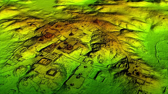 Lidar and UAV reveal Mayan 'megalopolis'
