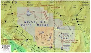 Nellis Air Force Base in southern Nevada. (Image: USAF)