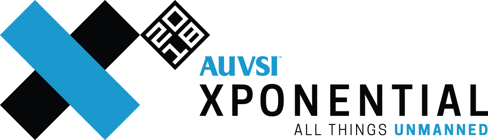 Image result for auvsi xponential logo""