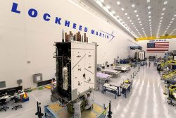 Lockheed Martin's GPS III SV03 became fully integrated in August 2017. (Photo: Lockheed Martin/USAF)